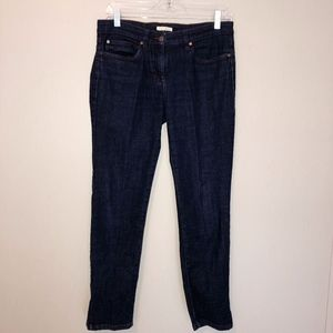 Eileen Fisher Designer Dark Wash Jeans - Size 8
